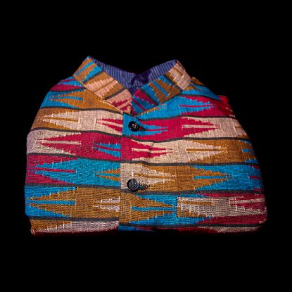 Dhaka Waist Coat Limbu