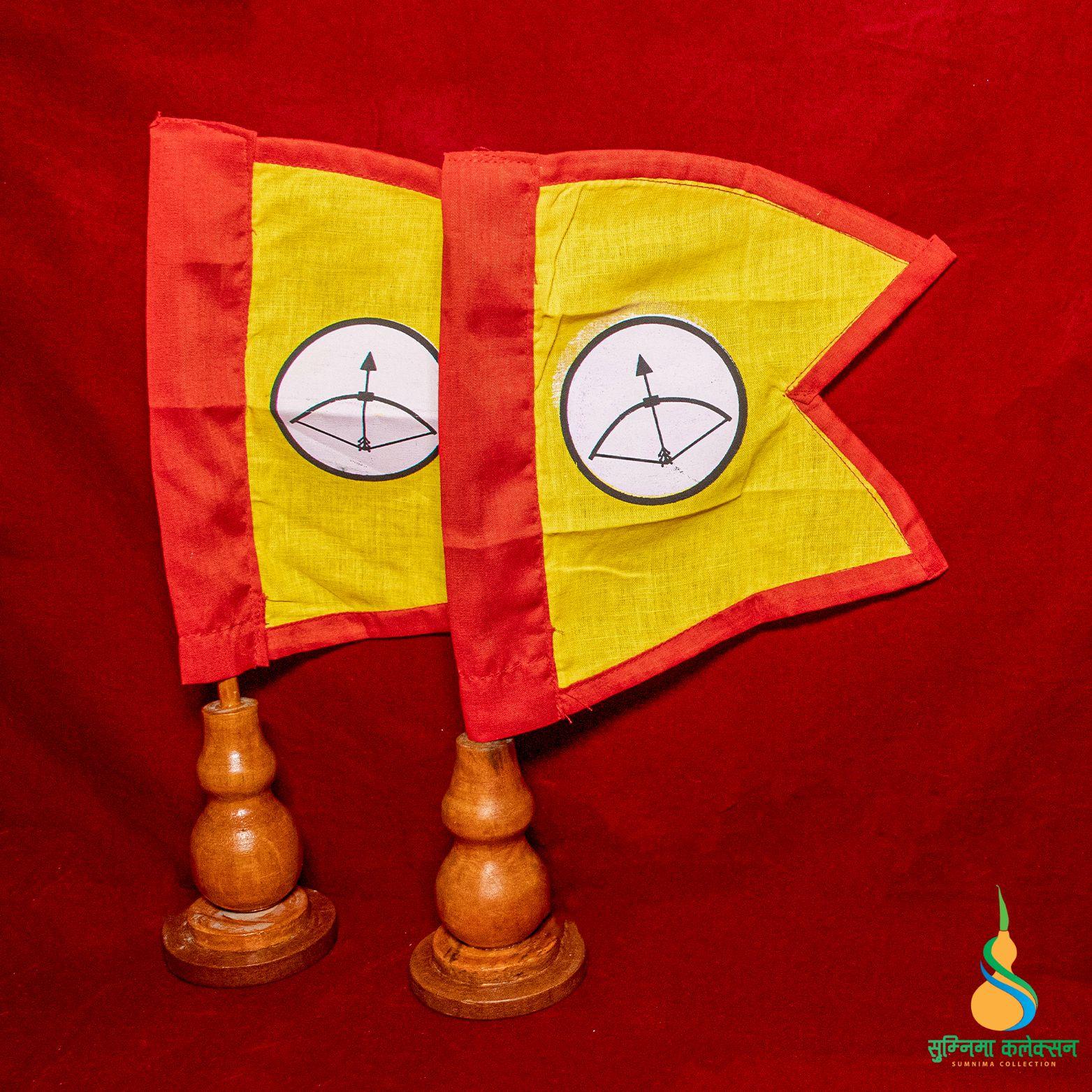 Kirat Flag w. Stand